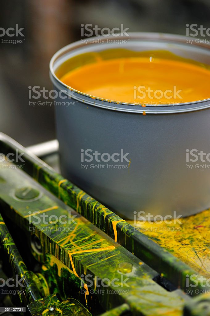 ink container stock photo