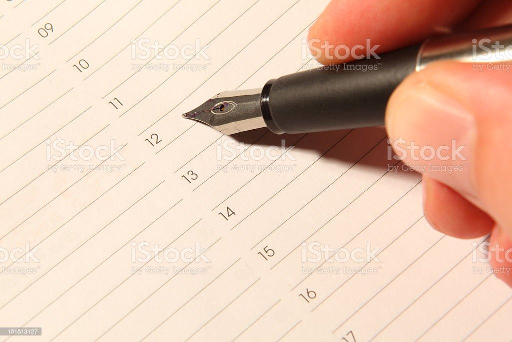 Ink pen 03 royalty-free stock photo