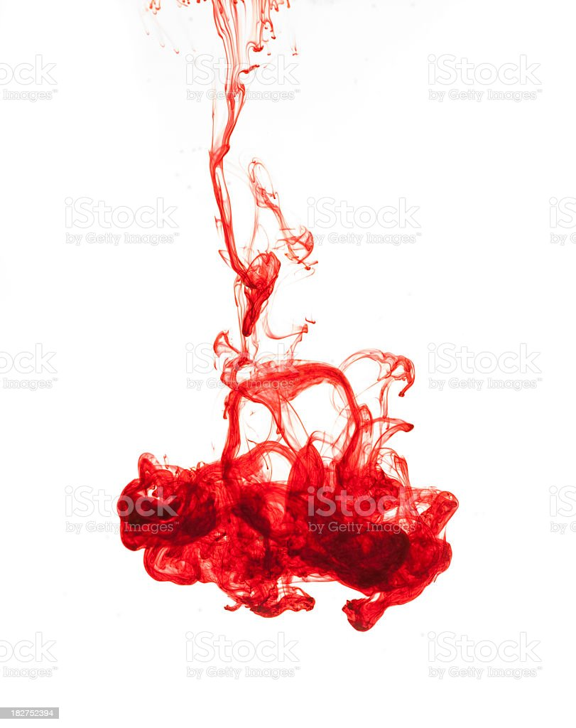 Ink royalty-free stock photo