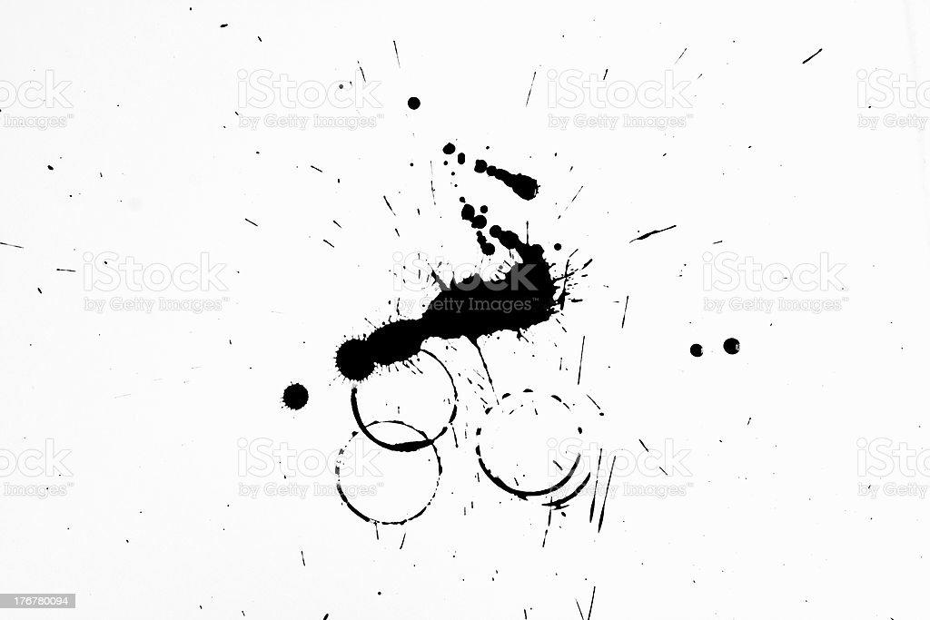 ink splash royalty-free stock photo