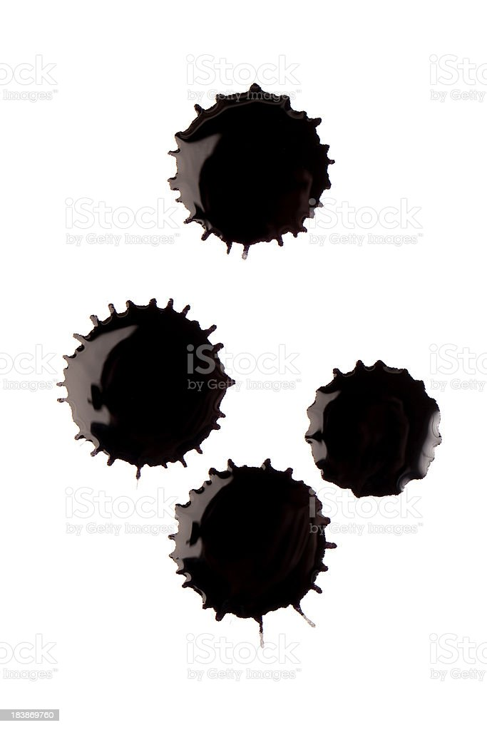Ink Splat royalty-free stock photo