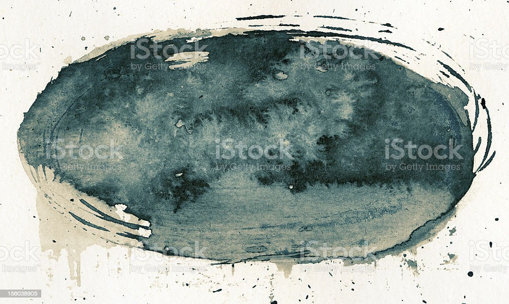 Ink texture royalty-free stock photo