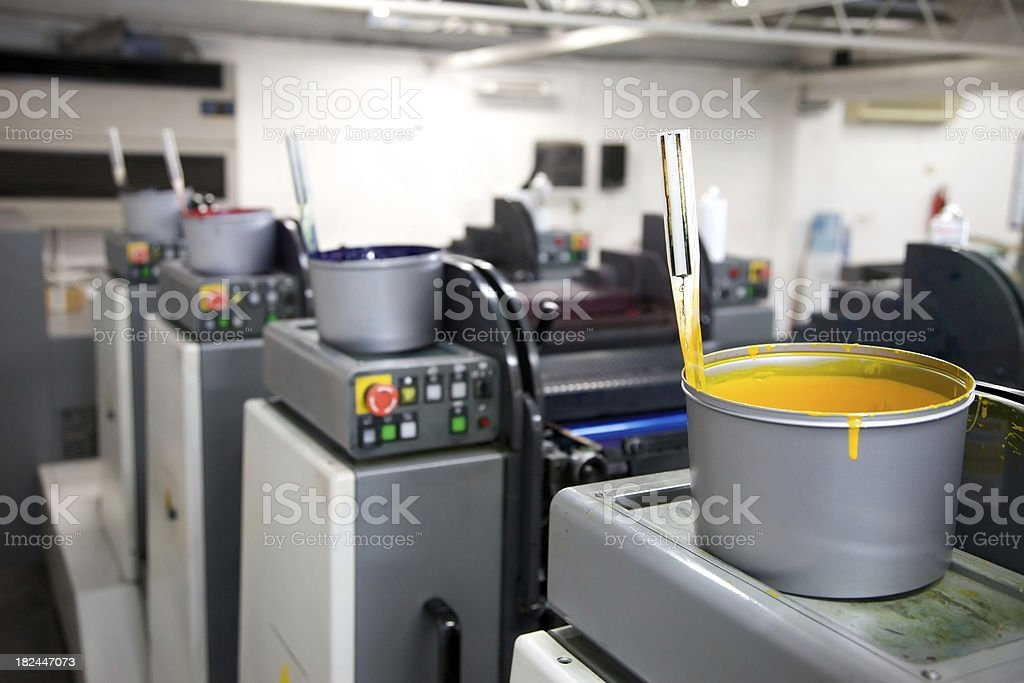 Ink Tins... stock photo