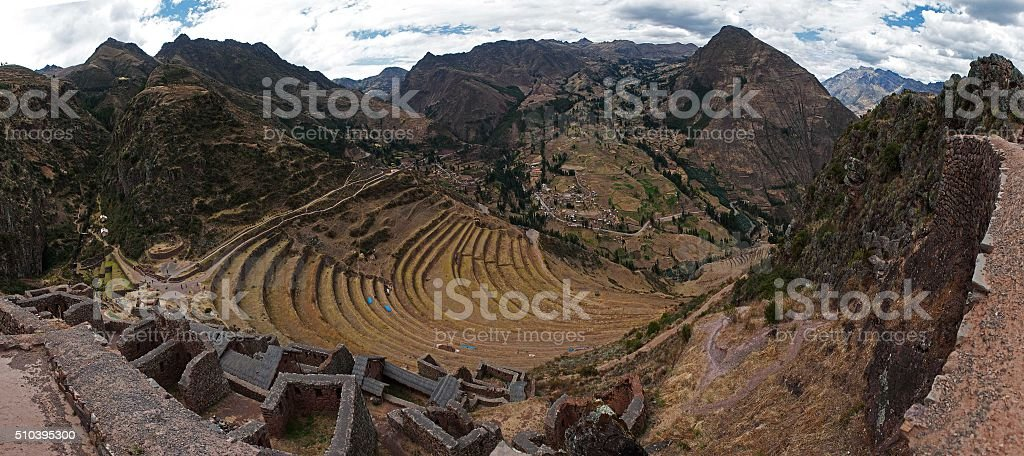 Inka place stock photo