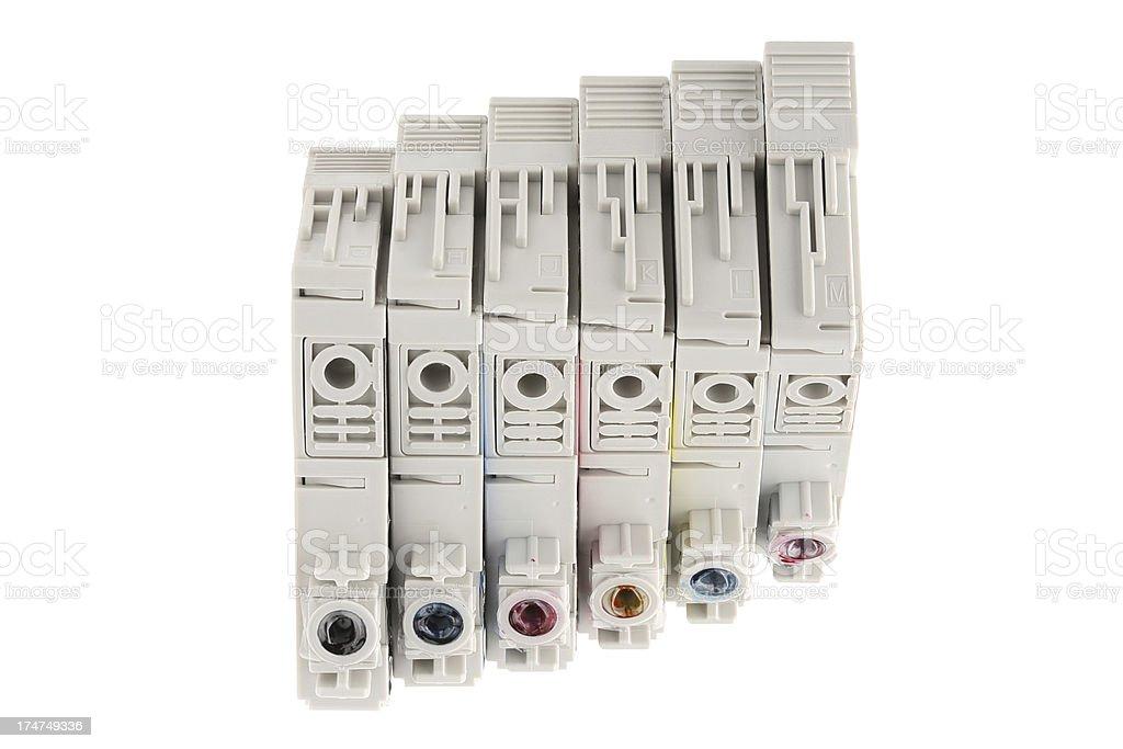 Inkjet cartridges royalty-free stock photo