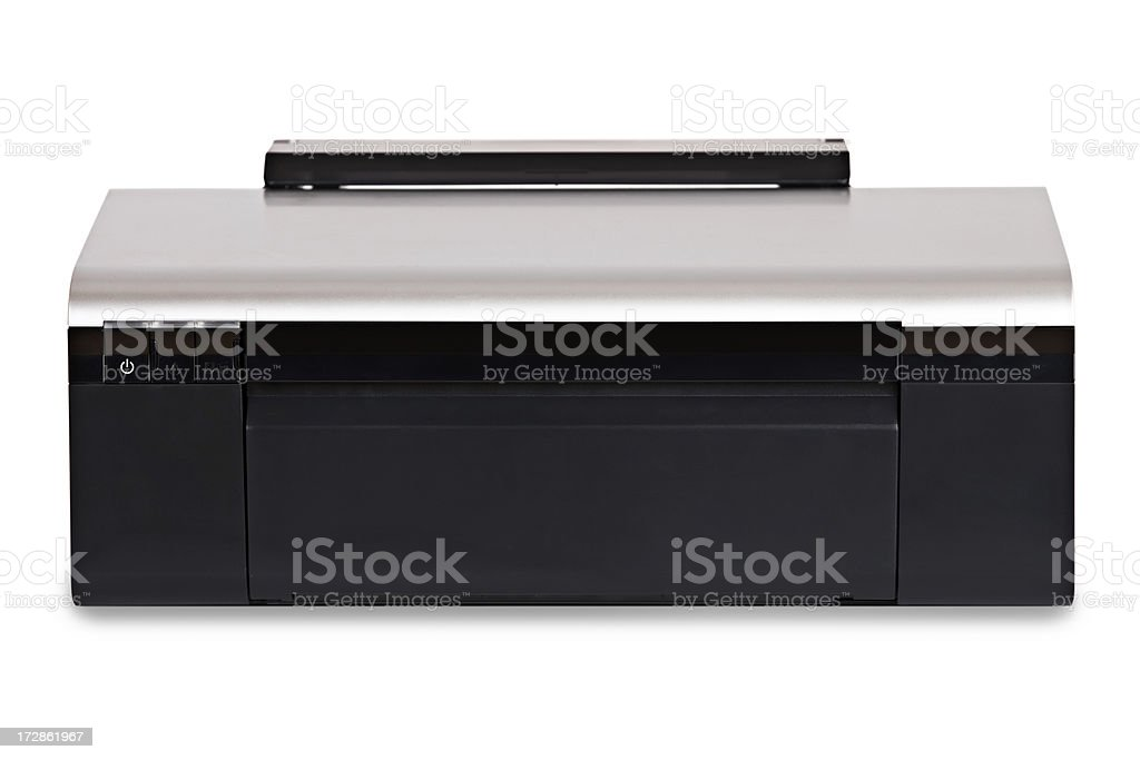 inkjet printer (clipping path) stock photo