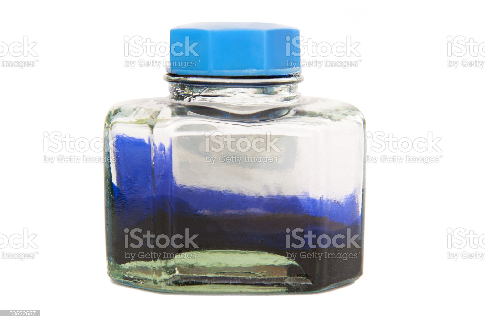Inkwell royalty-free stock photo