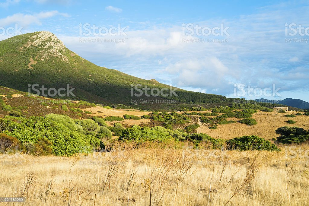 Inland Sardinia stock photo