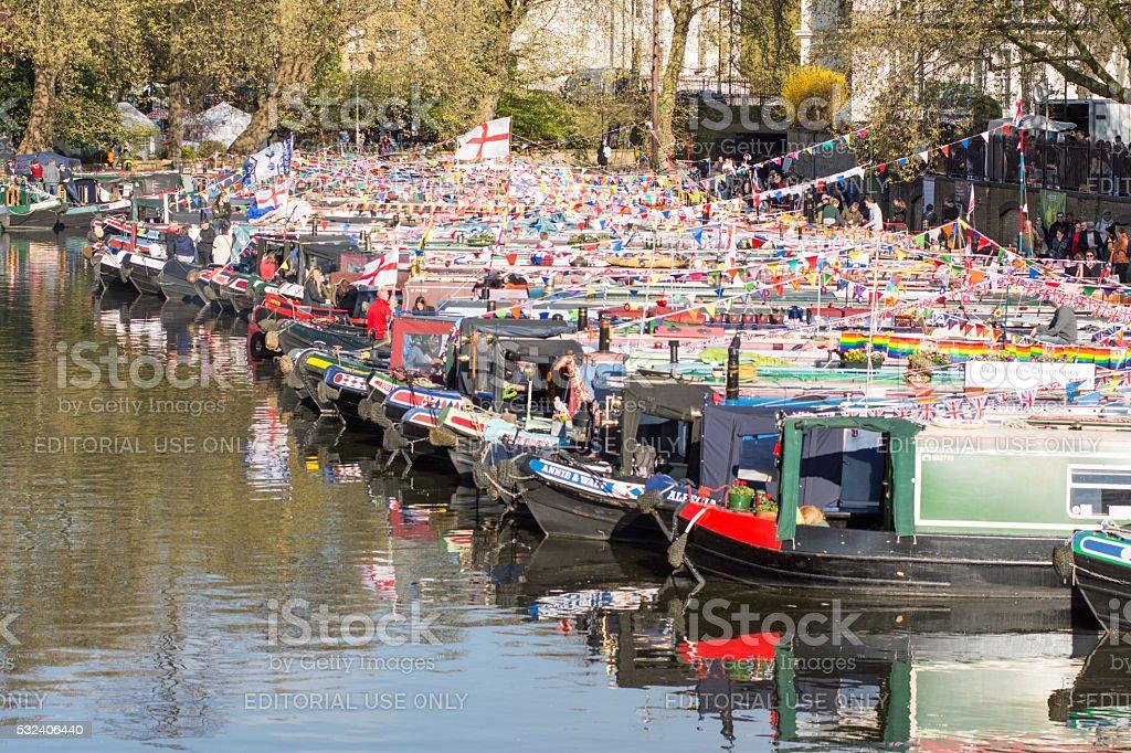 Inland Waterways Association Cavalcade stock photo