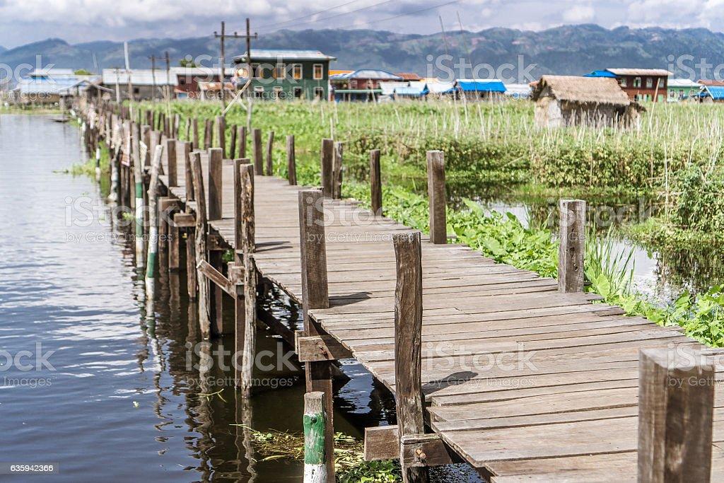 Inle Lake, Myanmar stock photo