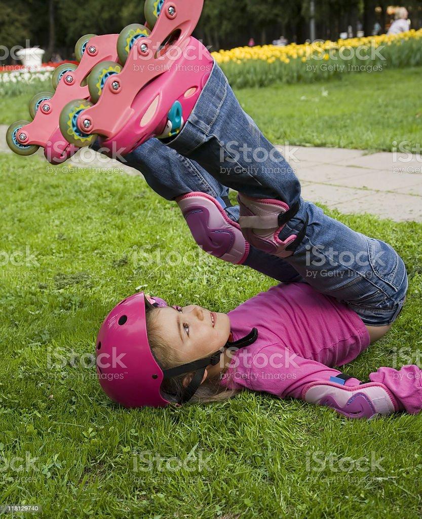 inline skate stock photo