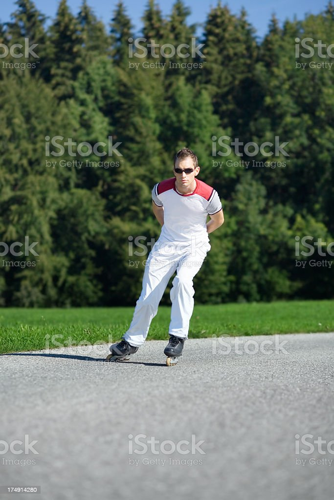 Inline Skater royalty-free stock photo