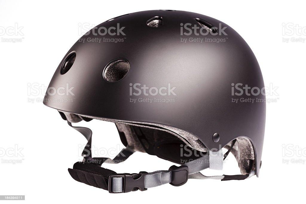 Inline skating helmet isolated on white royalty-free stock photo