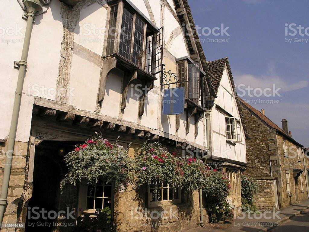 Inn in Lacock royalty-free stock photo
