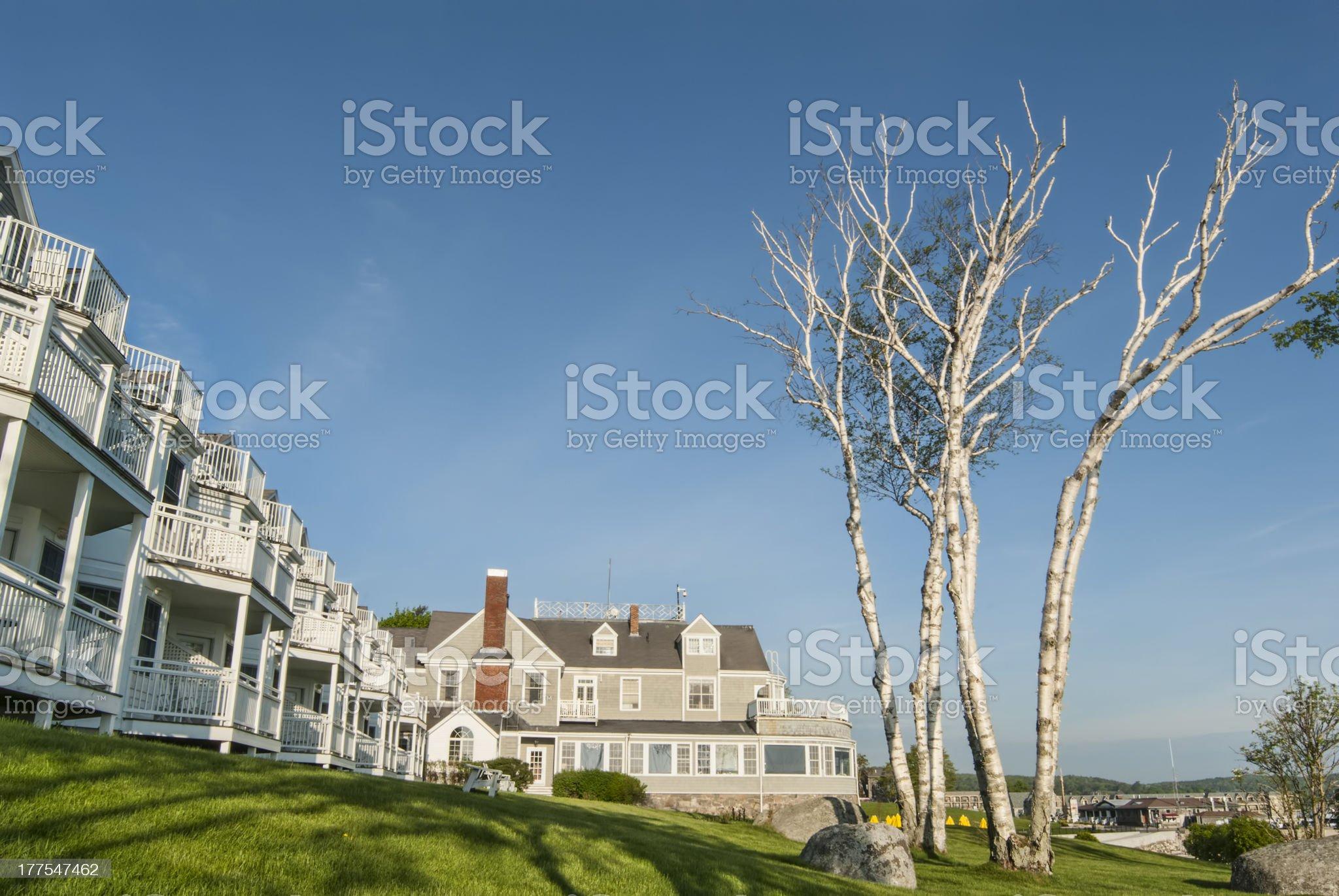 Inn royalty-free stock photo