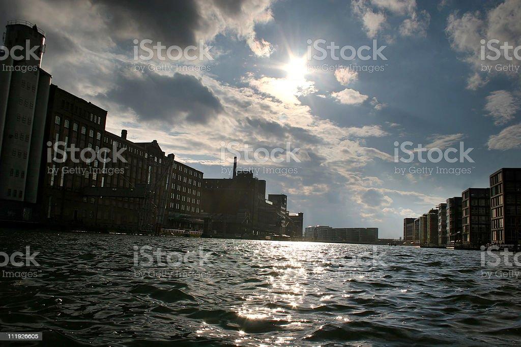 Innenhafen Duisburg royalty-free stock photo