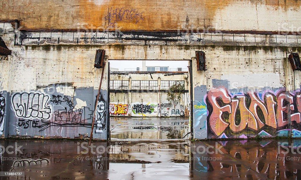Inner City Street Art royalty-free stock photo