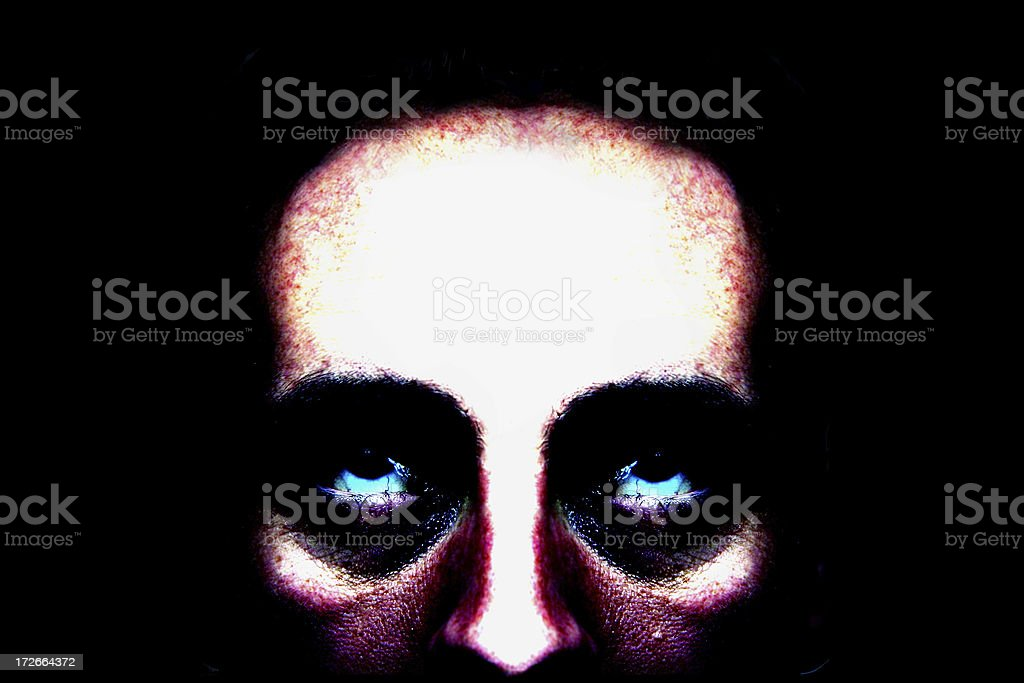 Inner Demon stock photo
