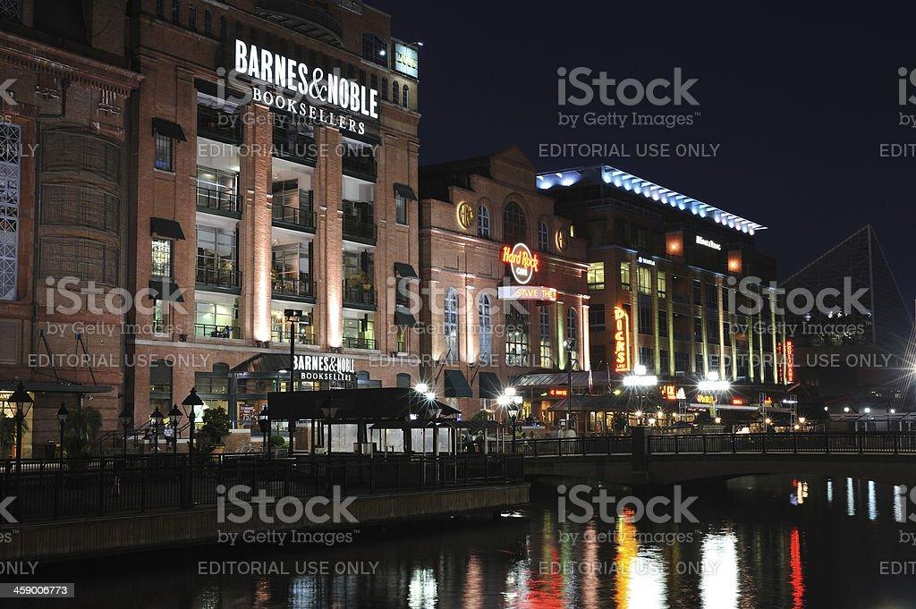 Inner Harbor Waterfront stock photo