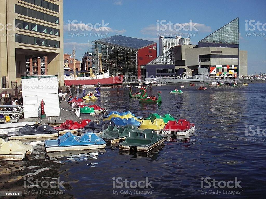 Inner Harbour royalty-free stock photo