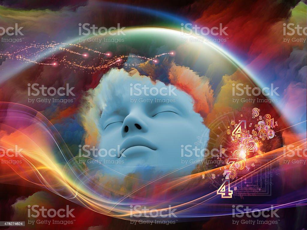 Inner Life of Dream stock photo