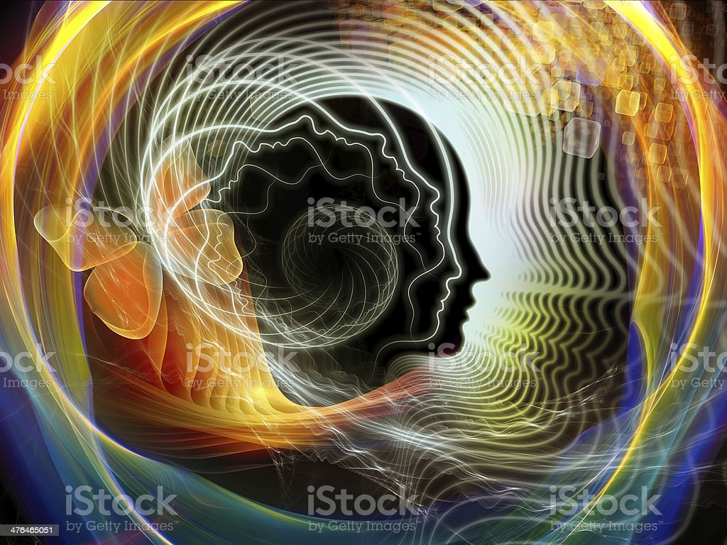 Inner Life of Human Mind royalty-free stock photo