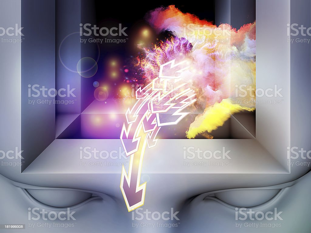 Inner Life of Mind royalty-free stock photo