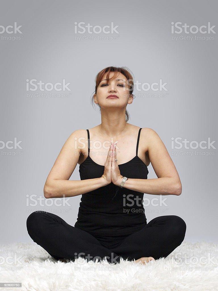 Inner peace royalty-free stock photo