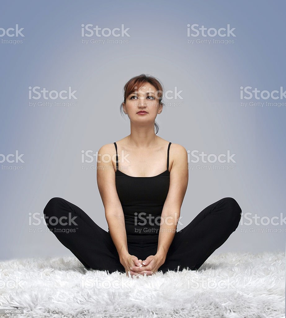 Inner peace royalty-free stock photo