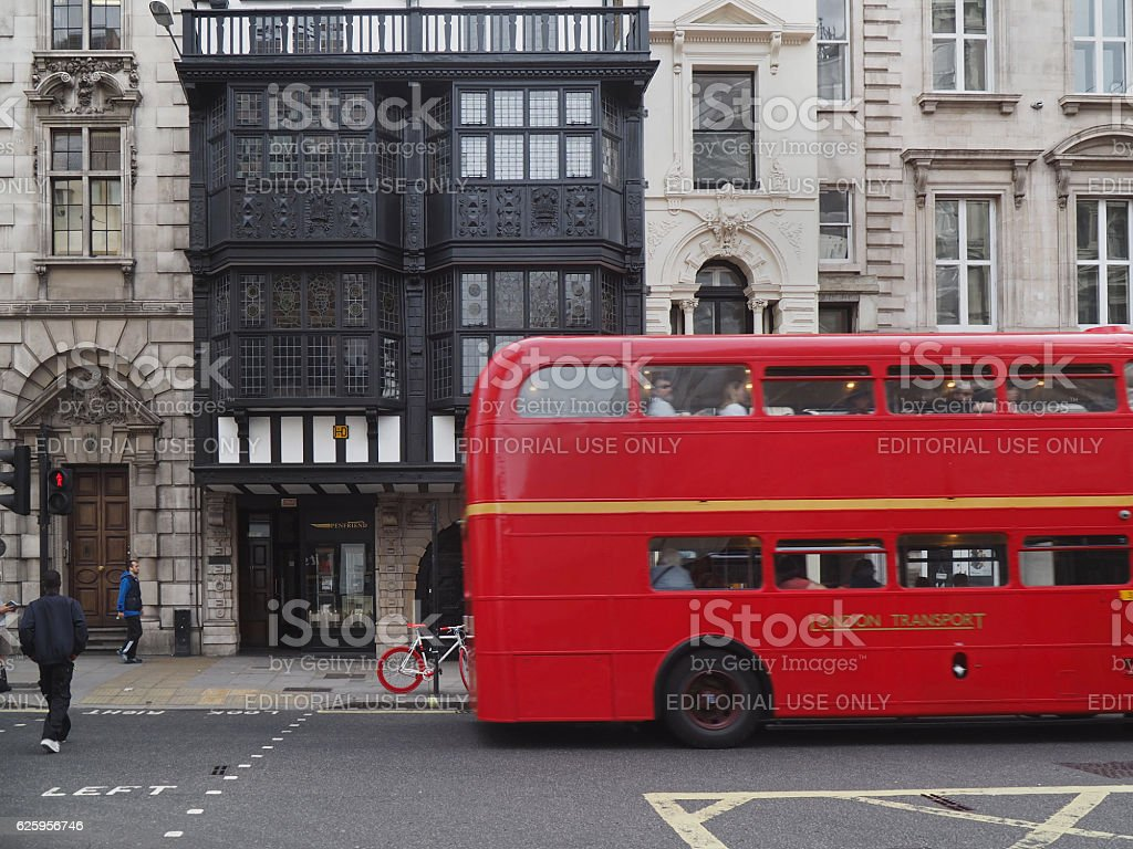 Inner Temple Gatehouse on Fleet Street stock photo