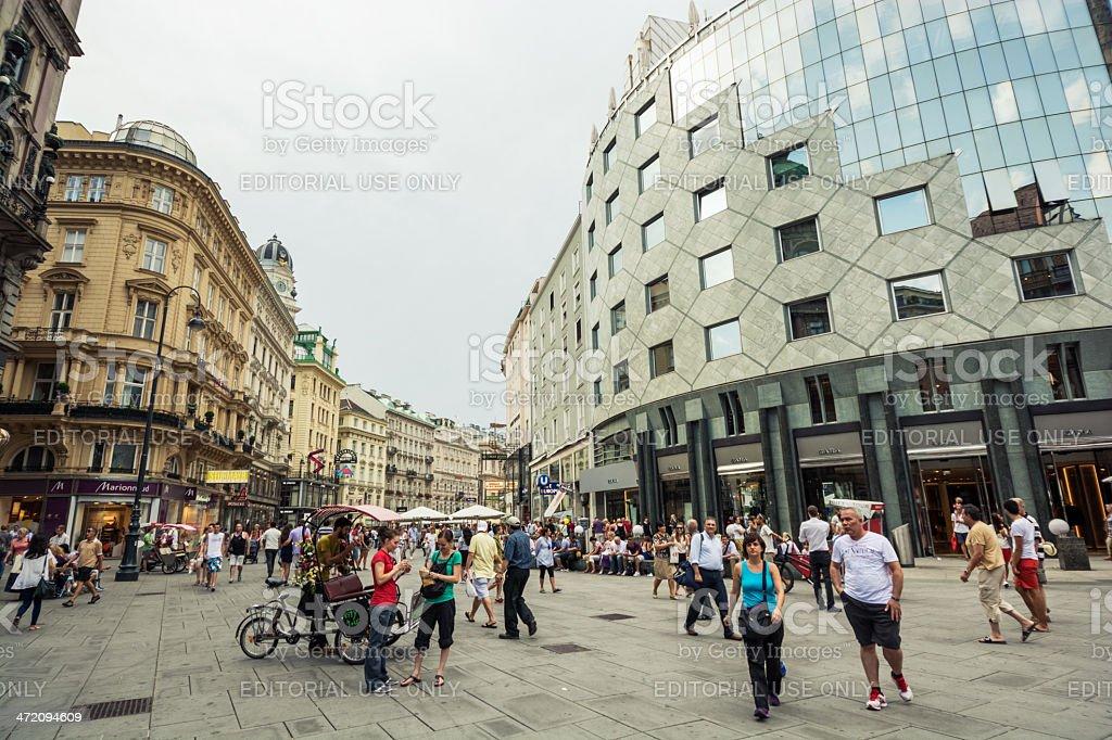 Innere Stadt district of Vienna, Austria stock photo
