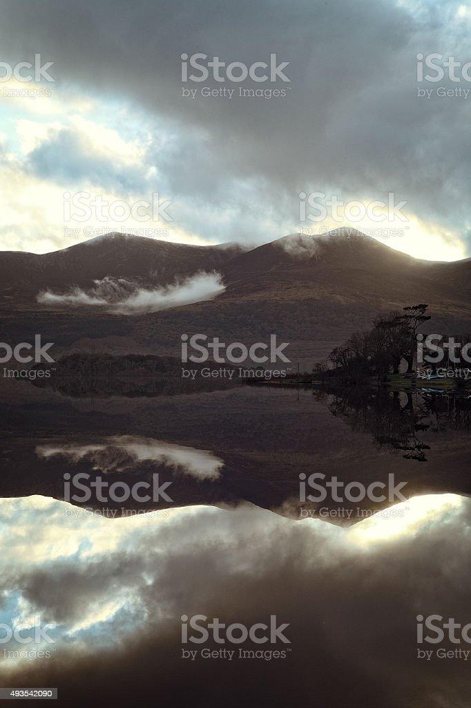 Innishfallen Reflection 4 stock photo