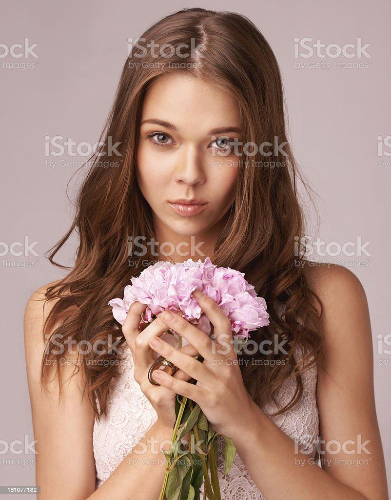 Innocence and beauty royalty-free stock photo