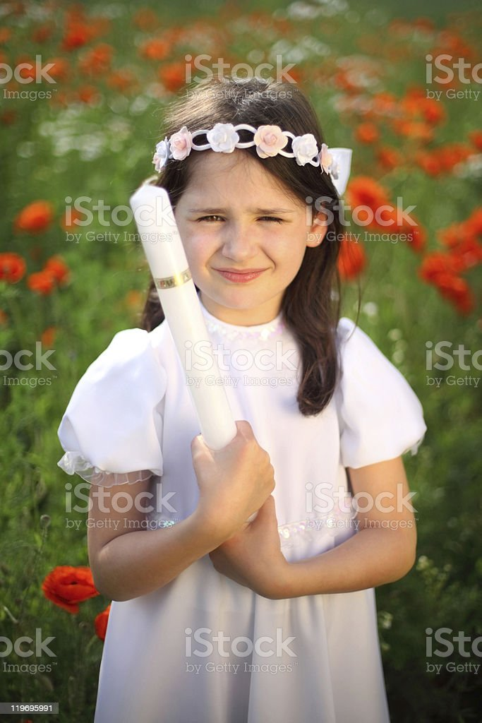innocence and purity royalty-free stock photo