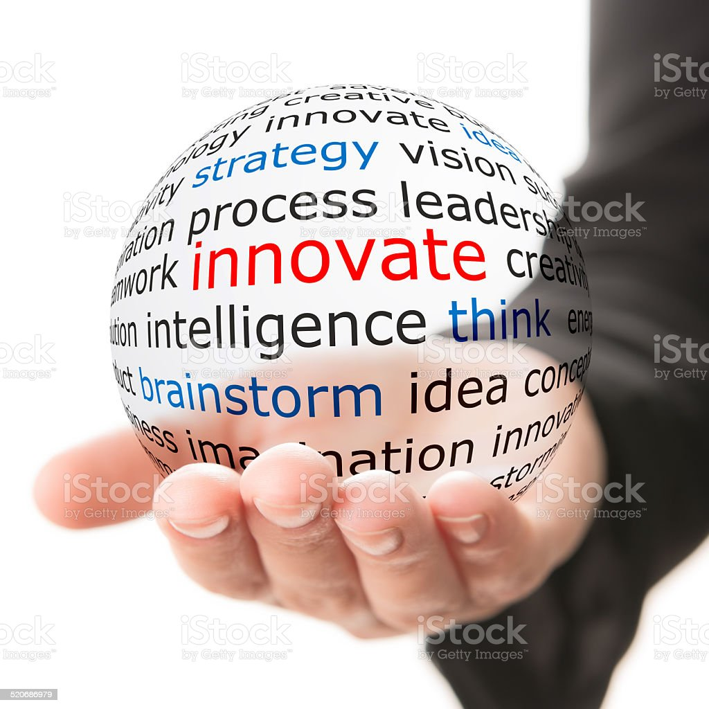 Innovate concept stock photo