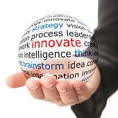Innovate concept