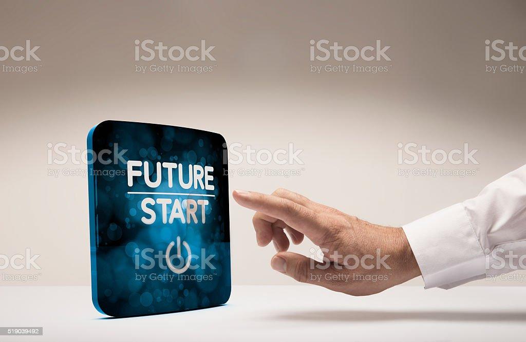Innovate Now stock photo
