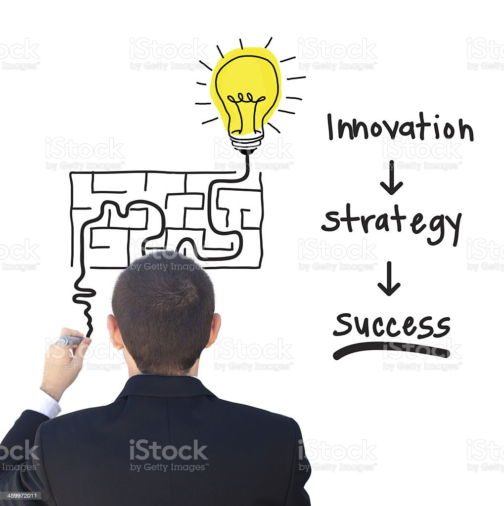 Innovation and success stock photo
