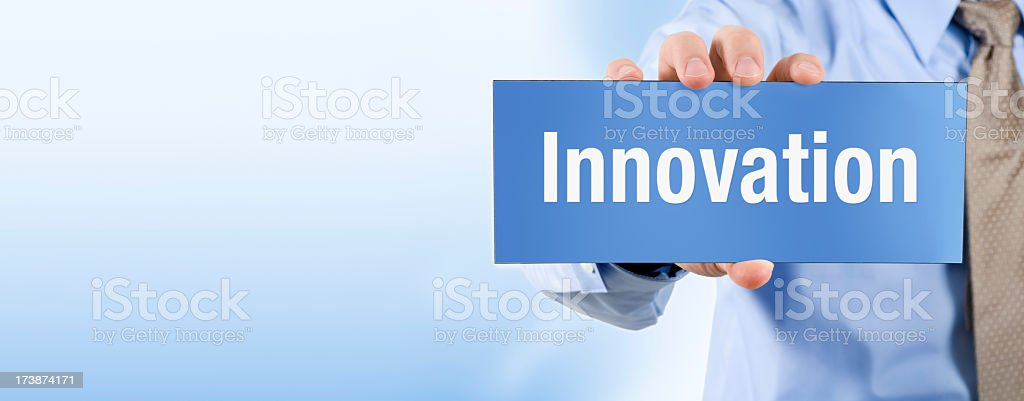 Innovation - Banner Series royalty-free stock photo