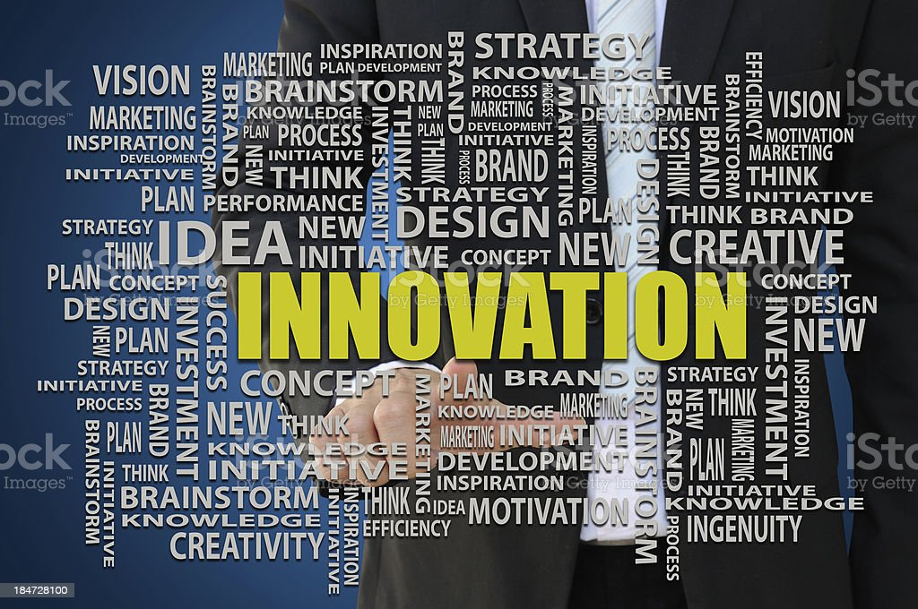 Innovation Business Concept royalty-free stock photo