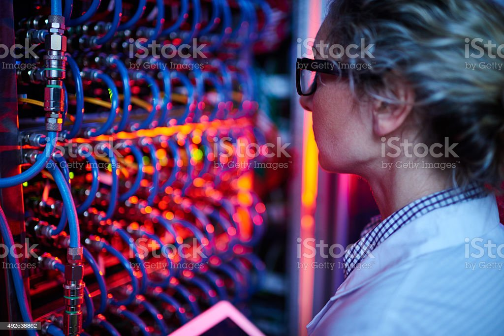 Innovations in technology stock photo