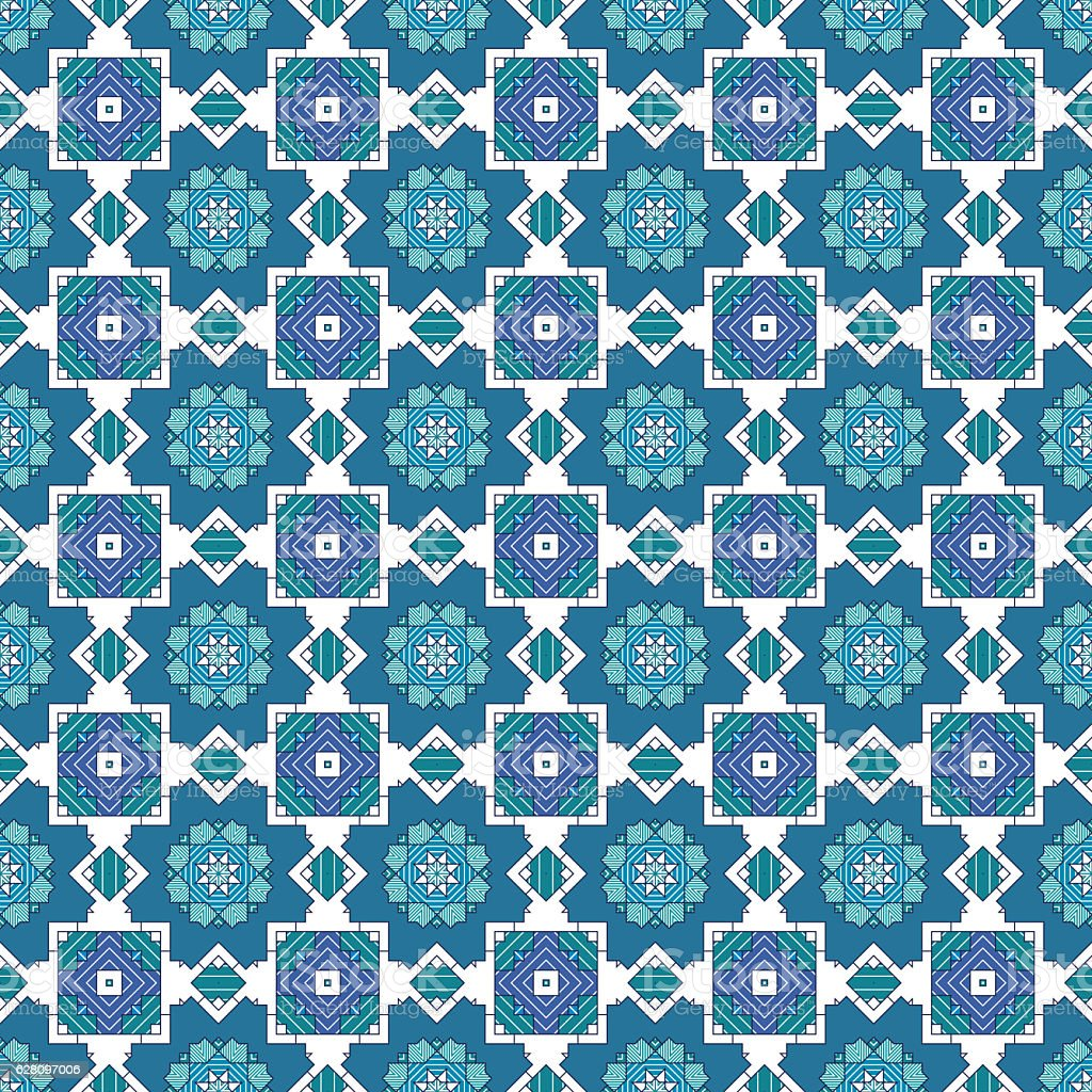 Innovative geometric pattern stock photo