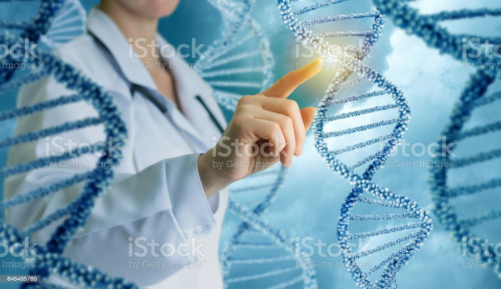 Innovative in science and medicine . stock photo
