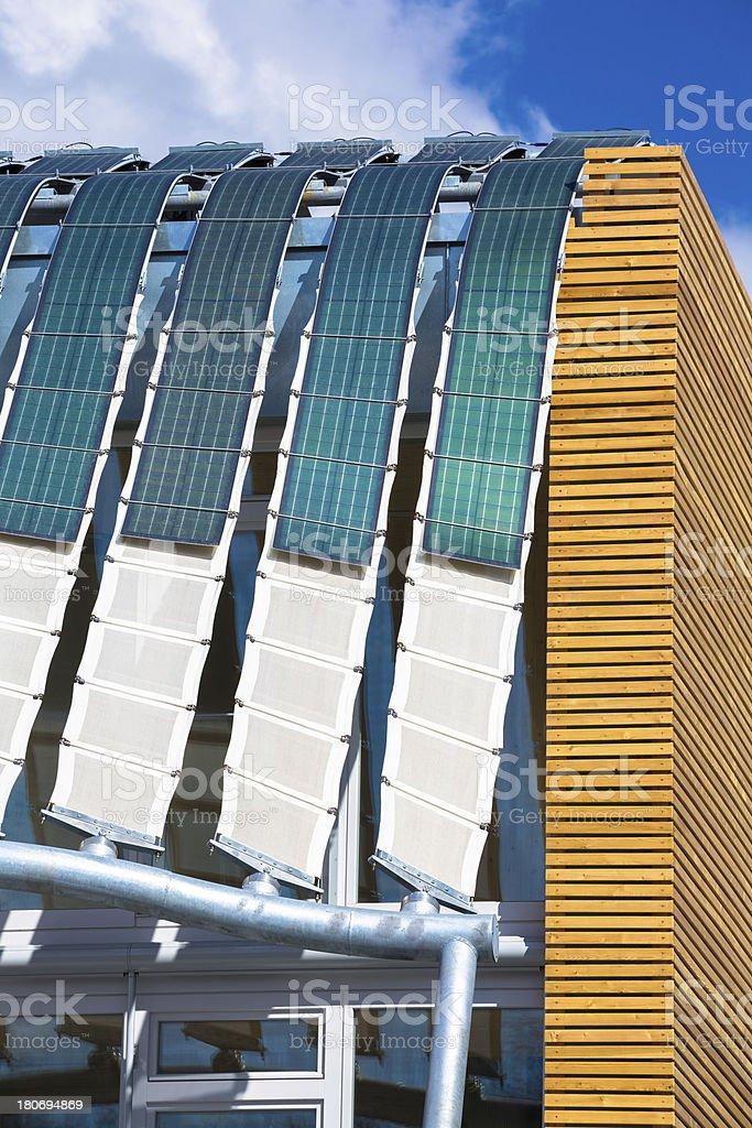 Innovative solar energy panel stock photo