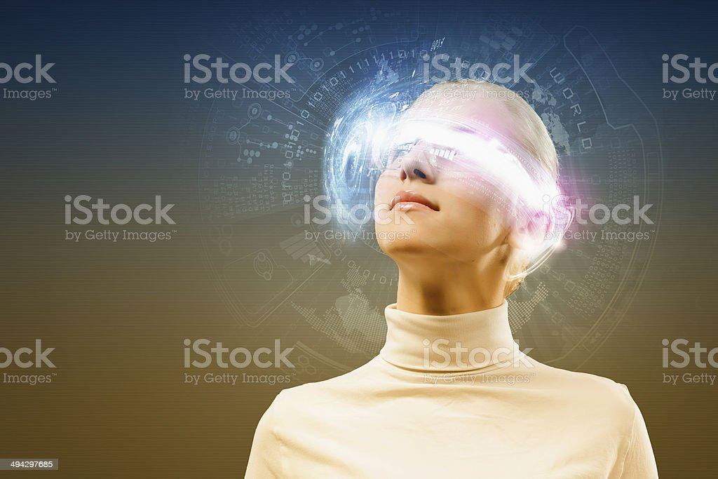 Innovative technologies stock photo