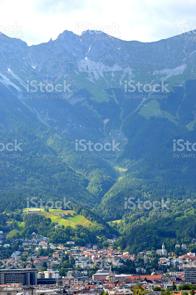 Innsbruck, Austria stock photo