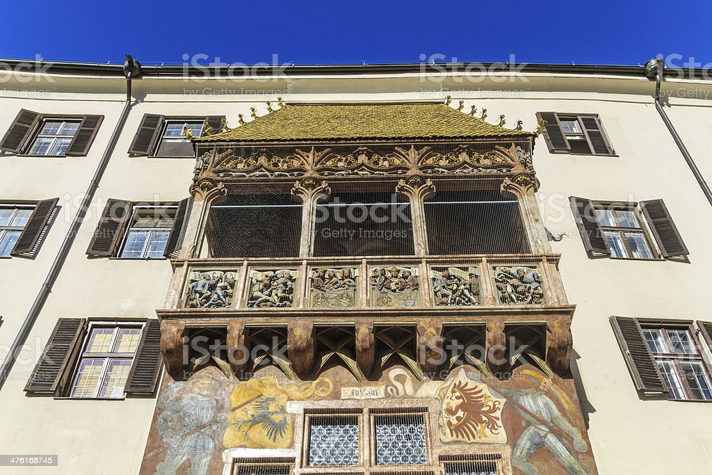 Innsbruck Golden Roof royalty-free stock photo