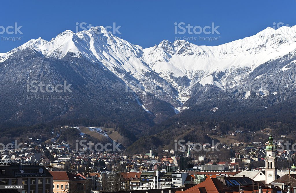 Innsbruck royalty-free stock photo