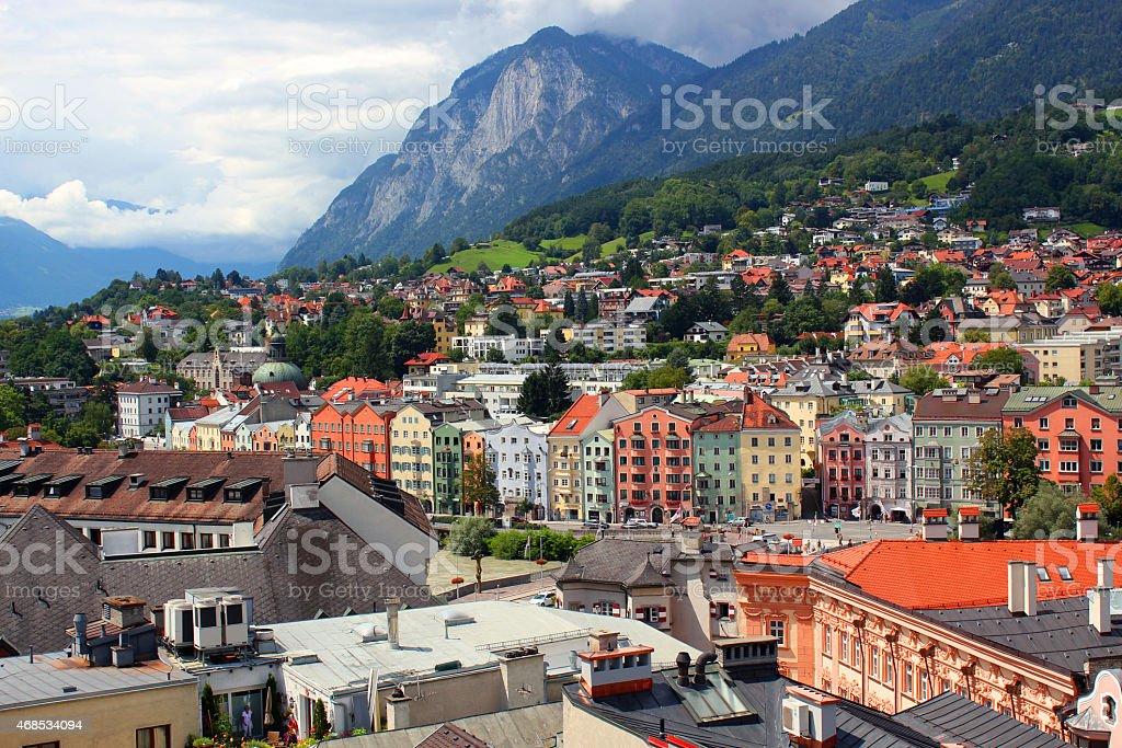 Innsbruck photo libre de droits