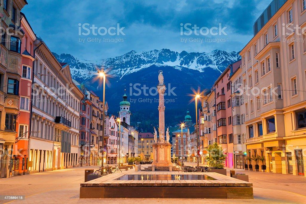 Innsbruck. stock photo